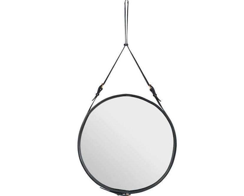 Gubi - Adnet Spiegel Circulaire - Ø 45 cm - zwart - 1