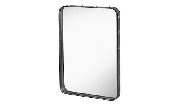 Gubi - Adnet Spiegel Rectangulaire - S - schwarz - 1