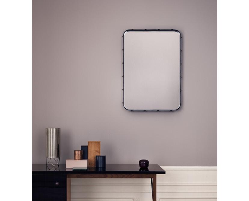 Gubi - Adnet Spiegel Rectangulaire - M 115 x 70 cm - zwart - 4