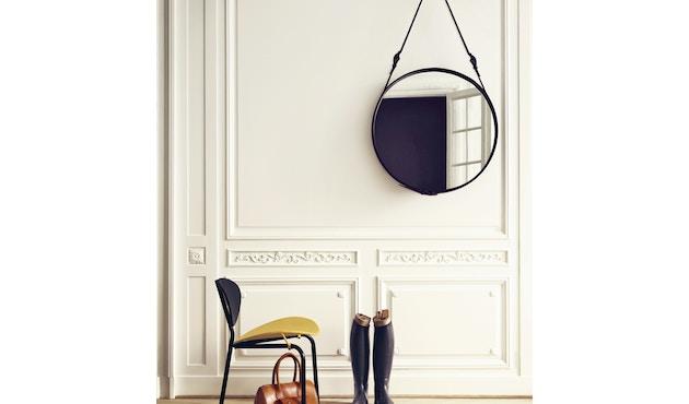 Gubi - Adnet Spiegel Circulaire - Ø 45 cm - zwart - 7