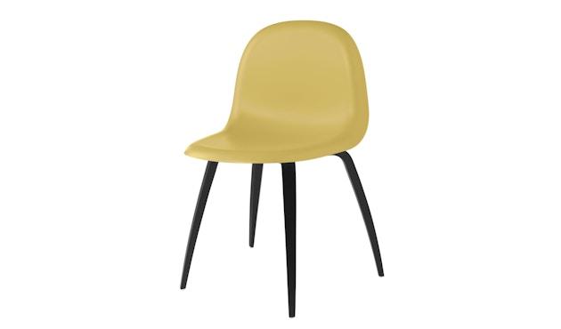 Gubi - Gubi 3D Dining Stuhl - Gestell Buche schwarz - gold - 1