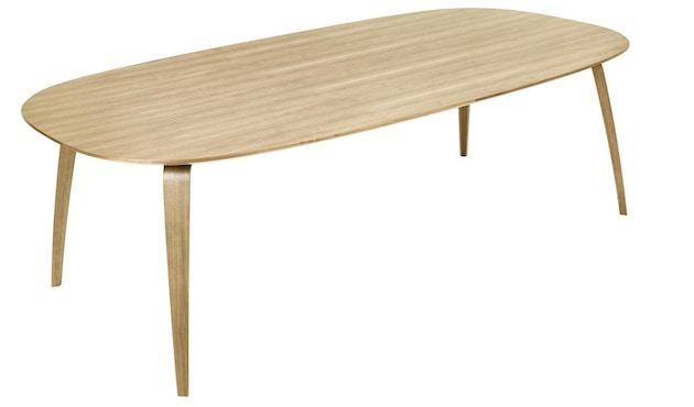 Gubi - Gubi Dining Table - Eiche - elliptisch - 1