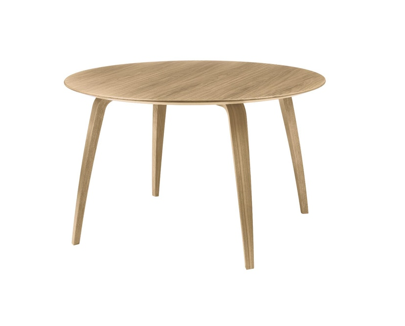 Gubi - Gubi Dining Table - Eiche - rund - 1