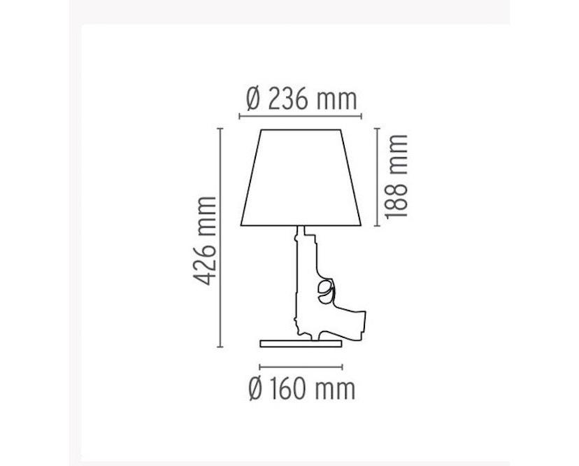Flos - Bedside Gun tafellamp - messing - 10