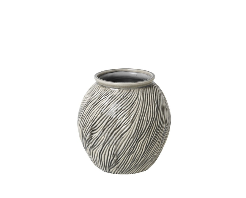 Broste Copenhagen - Sandy Vase - Ø20,5 x H21 cm - SmokedPearl - 0