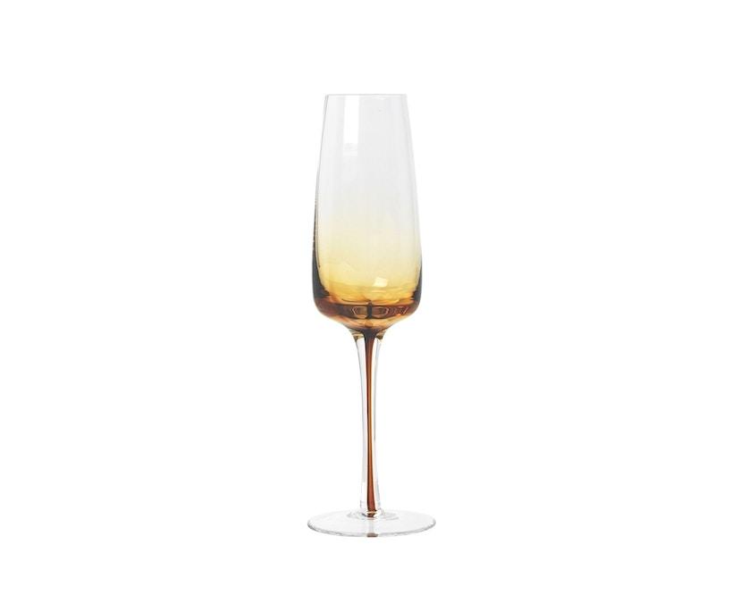 Broste Copenhagen -  Champagnerglas - Amber - 20 cl - 0