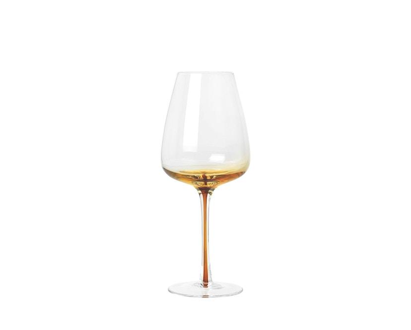 Broste Copenhagen - Weißweinglas - Amber - 40 cl - 0