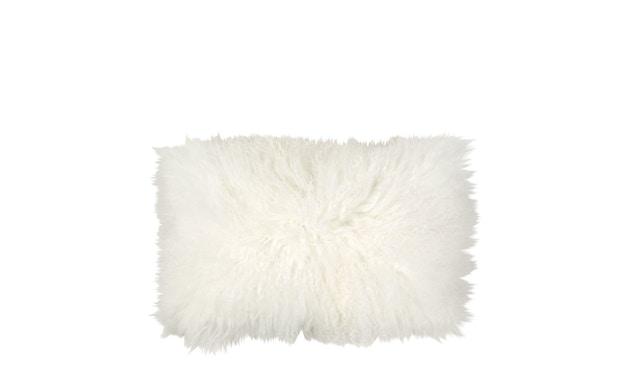 Broste Copenhagen - Lamb Lammfell Kissen - 30 x 50 - White - 0
