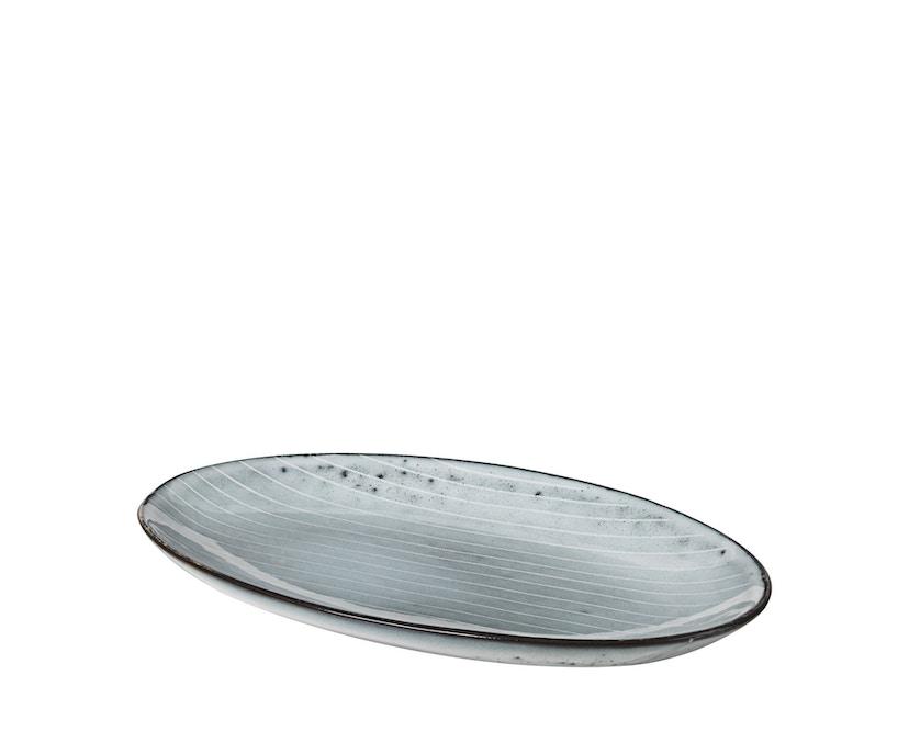Broste Copenhagen - Nordic serveerschaal - 13,6 x 22 cm - Sea - 0