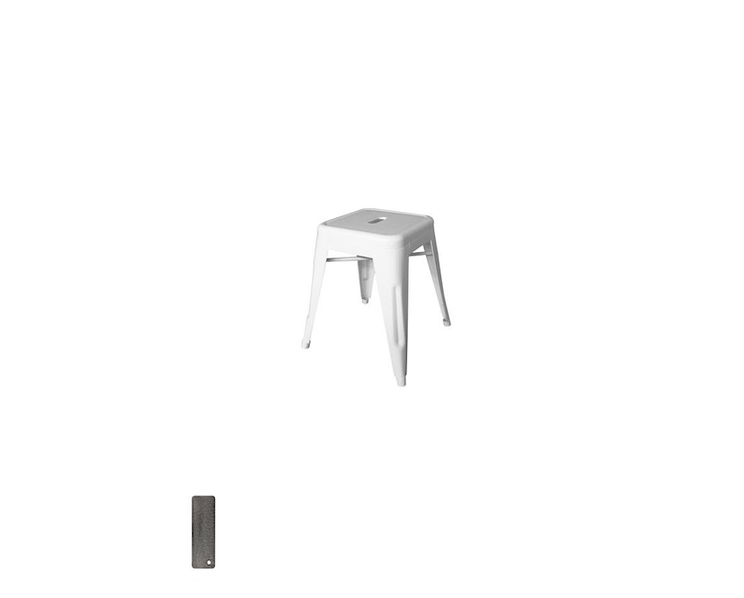 Tolix - H45 Hocker - indoor - rustikal grau - 3
