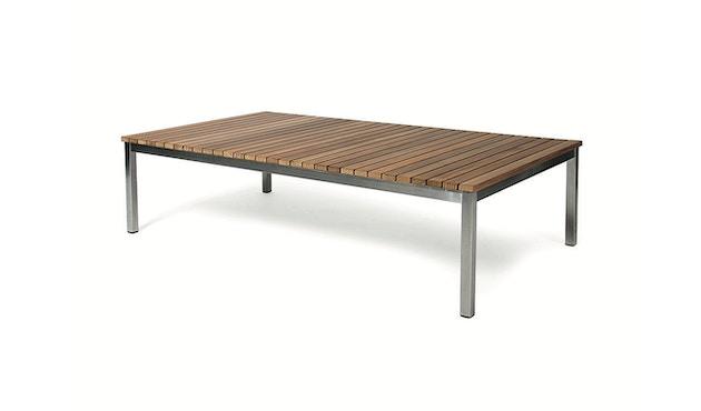 Skargaarden - Häringe Lounge Tisch - 85 x 85 cm - Stahlgestell gebürstet - 1