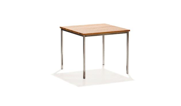 Skargaarden - Häringe Tisch - 85 x 85 cm - Stahlgestell gebürstet - 1