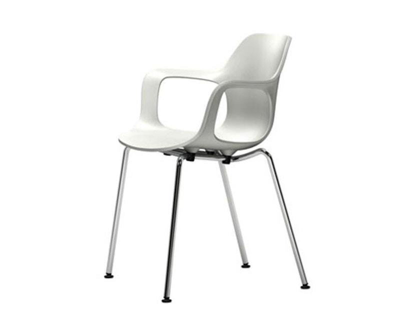 Vitra - HAL Armchair stapelbar - weiß - 1