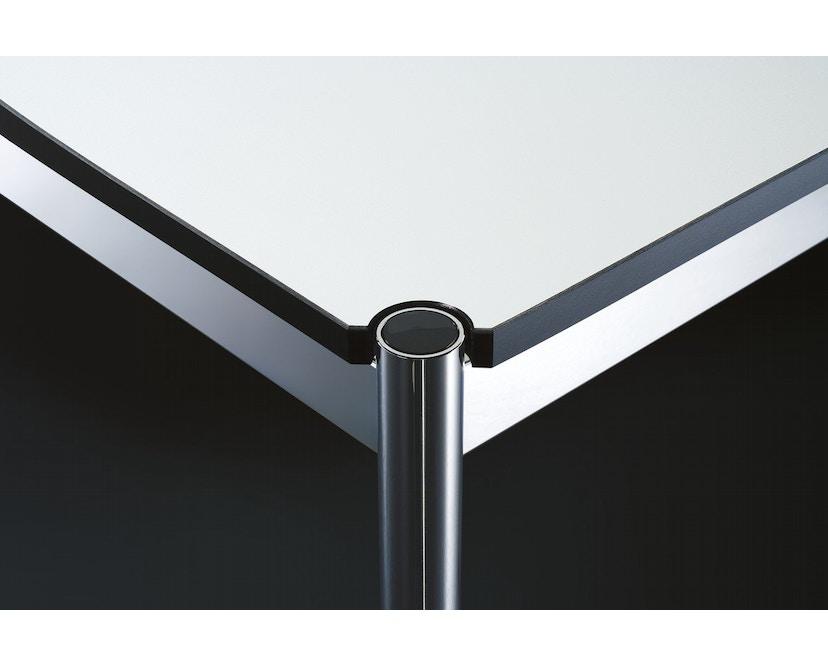 USM Haller - Table Haller 100 x 100 cm - résine synthétique, gris perle - 2