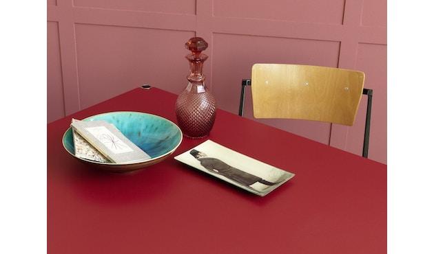 USM Haller - Table Haller 100 x 100 cm - résine synthétique, gris perle - 4