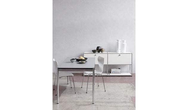 USM Haller - Haller Tisch 150 x 75 cm - MDF RAL9010 reinweiss - 5