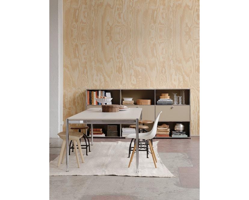 USM Haller - Haller Tisch 175 x 100 cm - Kunstharz perlgrau - 7