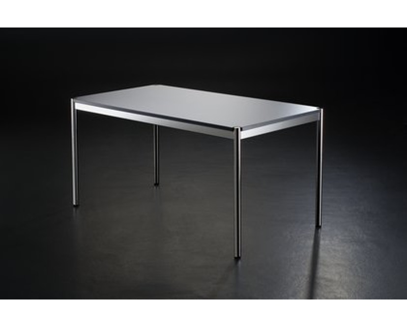 USM Haller - Haller tafel 200 x 100 cm - Kunsthars, parelgrijs - 3