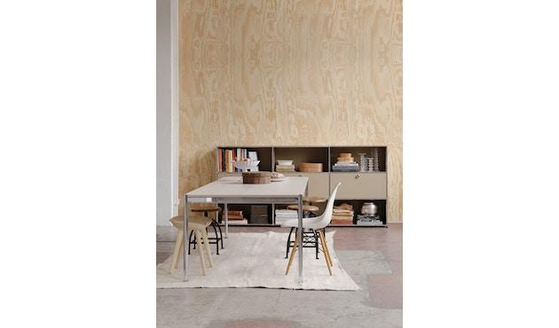 USM Haller - Haller Tisch 200 x 100 cm - Kunstharz perlgrau - 6