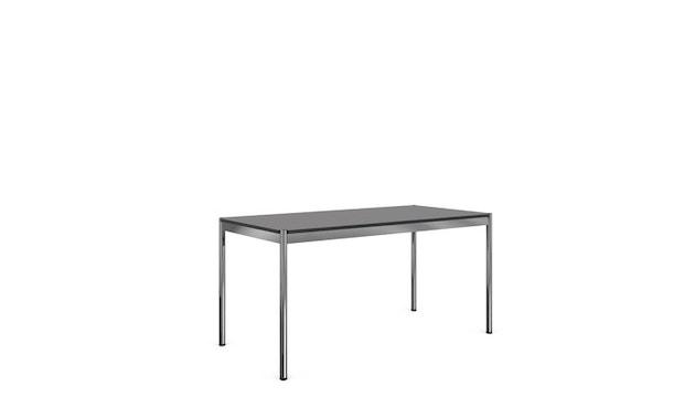 USM Haller - Haller Tisch 200 x 100 cm - Kunstharz perlgrau - 0