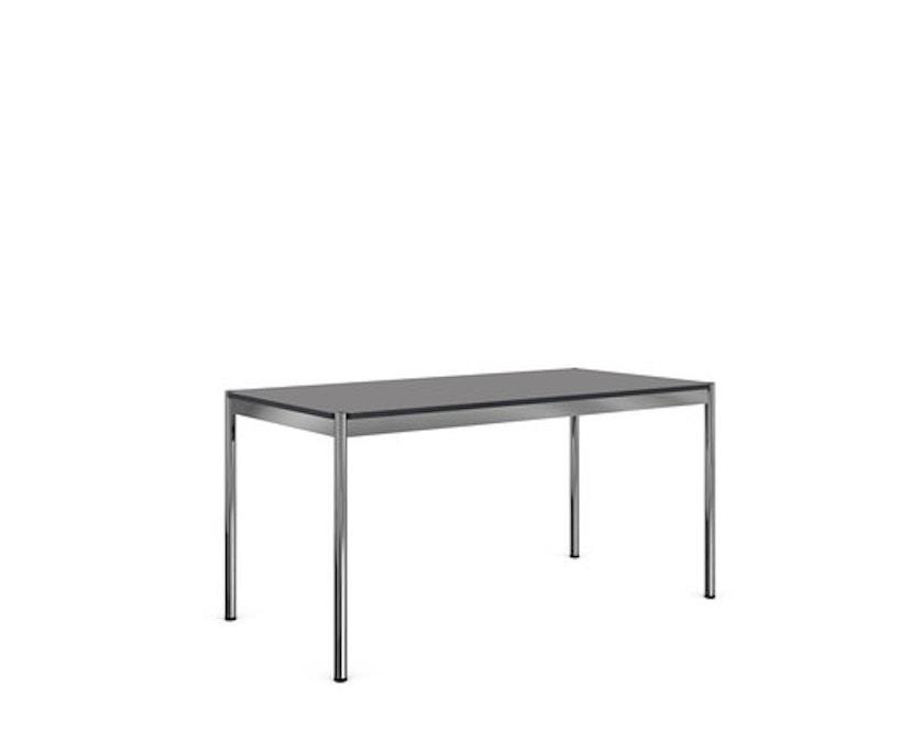 USM Haller - Haller Tisch 200 x 75 cm - Kunstharz perlgrau - 0