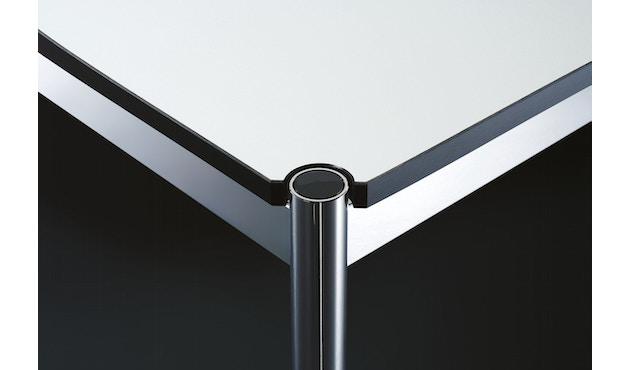 USM Haller - Haller Tisch 75 x 75 cm - Kunstharz perlgrau - 2