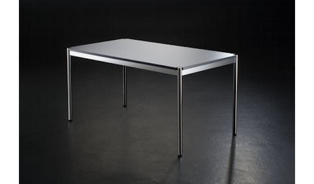USM Haller - Haller Tisch 75 x 75 cm - Kunstharz perlgrau - 3