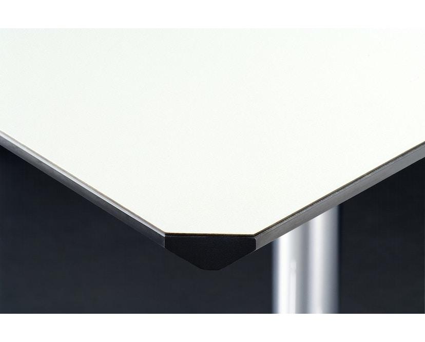 USM Haller - Haller tafel Kitos E2 160 x 80 cm - in hoogte verstelbaar - Kunsthars, parelgrijs - 2