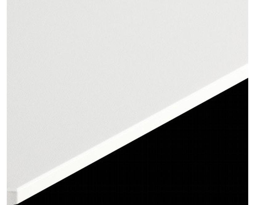 USM Haller - Haller Tisch Kitos E2 160 x 80 cm - höhenverstellbar - MDF RAL9010 reinweiss - 2
