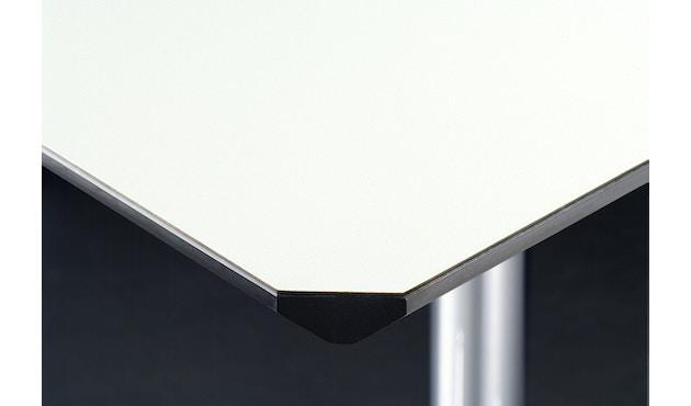 USM Haller - Haller Tisch Kitos E2 175 x 75 cm - höhenverstellbar - Kunstharz perlgrau - 2