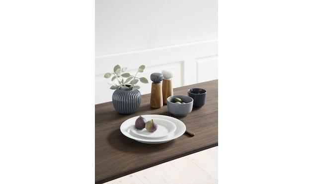 Kähler Design -  Hammershøi Vase - Höhe 10 cm - Anthracite - 3