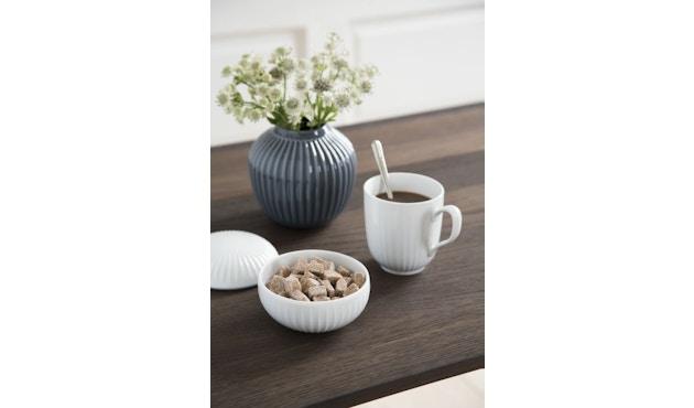 Kähler Design -  Hammershøi Vase - Höhe 10 cm - Anthracite - 5