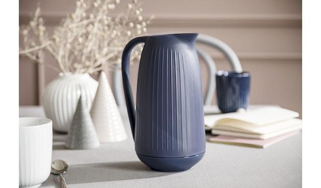 Kähler Design -  Hammershøi Vase - Höhe 10 cm - Anthracite - 6