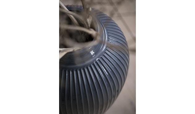 Kähler Design -  Hammershøi Vase - Höhe 10 cm - Anthracite - 9