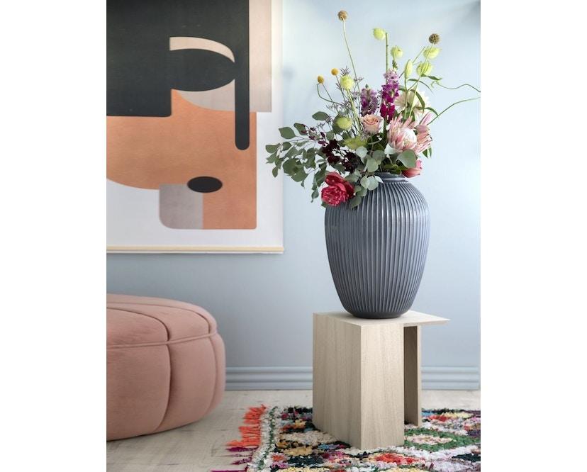 Kähler Design -  Hammershøi Vase - Höhe 10 cm - Anthracite - 7
