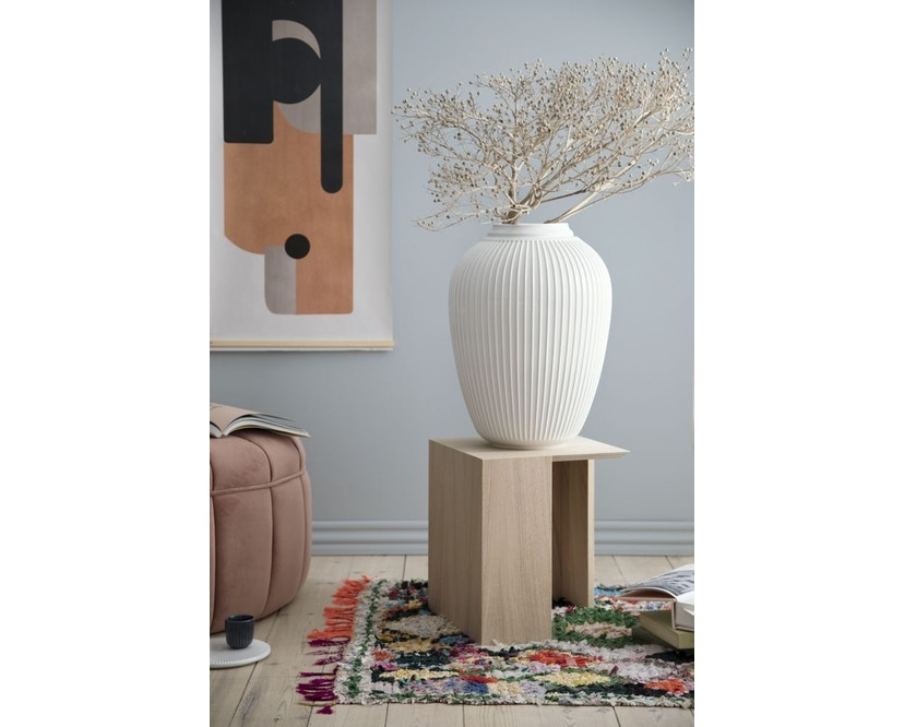 Kähler Design -  Hammershøi Vase - Höhe 12,5 cm - White - 6