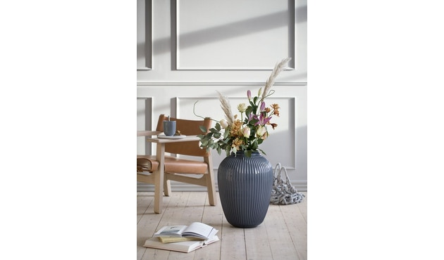 Kähler Design -  Hammershøi Vase - Höhe 10 cm - Anthracite - 8