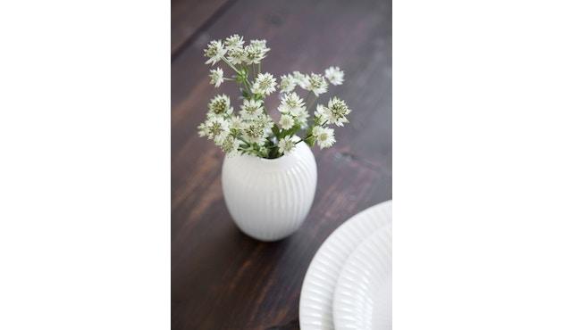 Kähler Design -  Hammershøi Vase - Höhe 12,5 cm - White - 10