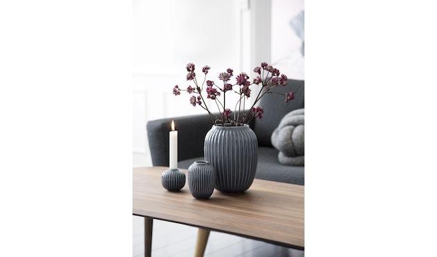 Kähler Design -  Hammershøi Vase - Höhe 10 cm - Anthracite - 10