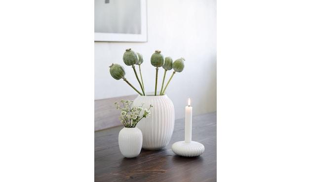 Kähler Design -  Hammershøi Vase - Höhe 12,5 cm - White - 12