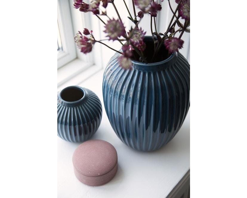 Kähler Design -  Hammershøi Vase - Höhe 10 cm - Anthracite - 12