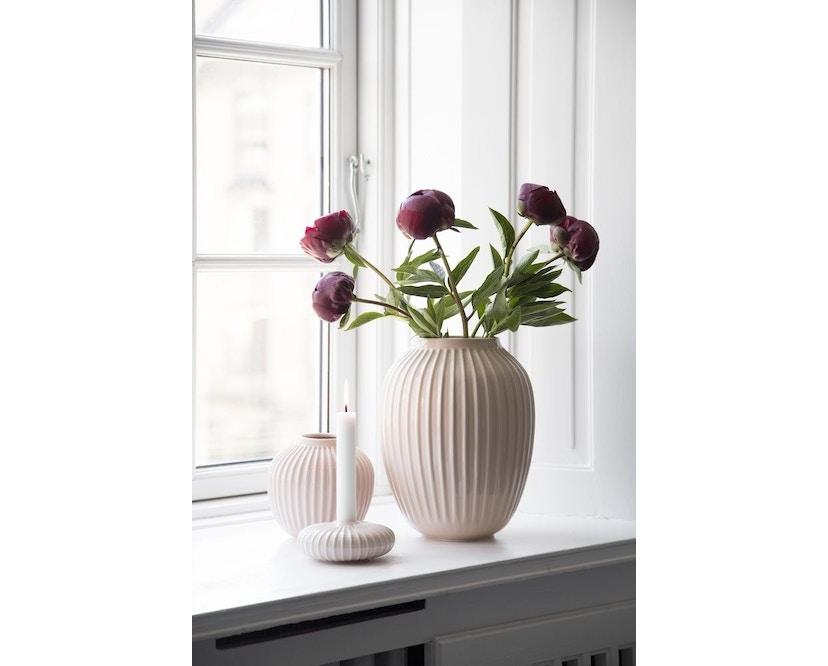 Kähler Design -  Hammershøi Vase - Höhe 12,5 cm - Rose - 2