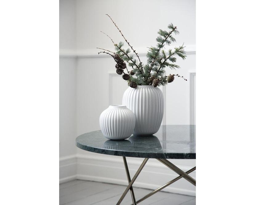Kähler Design -  Hammershøi Vase - Höhe 12,5 cm - White - 13