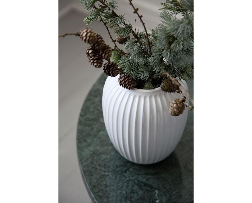 Kähler Design -  Hammershøi Vase - Höhe 12,5 cm - White - 14