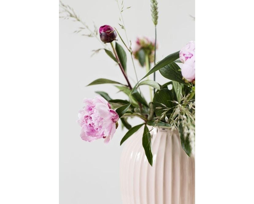 Kähler Design -  Hammershøi Vase - Höhe 10 cm - Rose - 3