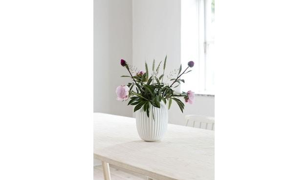 Kähler Design -  Hammershøi Vase - Höhe 12,5 cm - White - 15