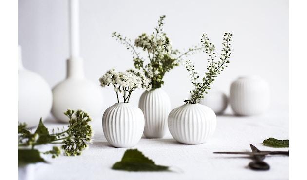Kähler Design -  Hammershøi Vase - Höhe 12,5 cm - White - 16