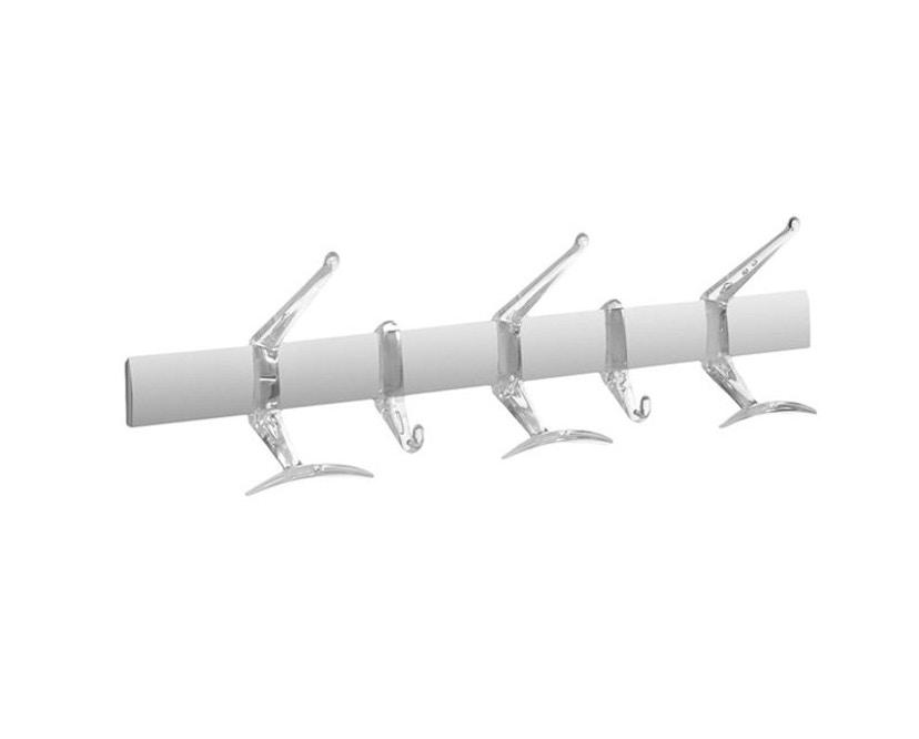 Kartell - Hanger Wandgarderobe - 60 cm - glasklar - 1