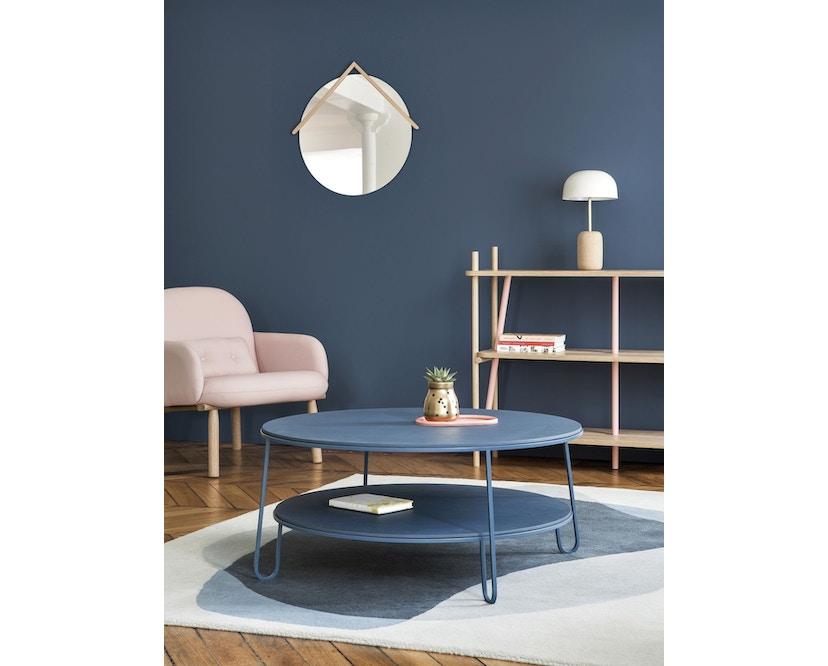 Harto - Eugenie salontafel  - 70 cm - Eiken/wit - 2