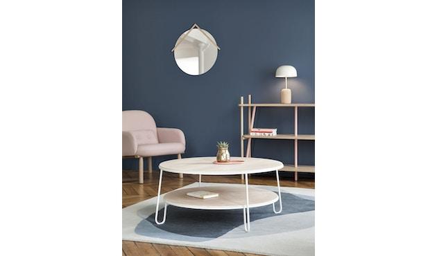 Harto - Eugenie salontafel  - 70 cm - Eiken/wit - 3